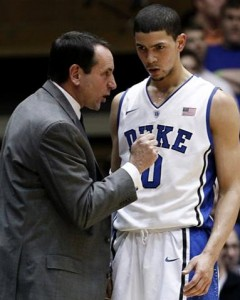 duke coach k rivers