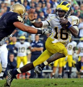 michigan denard robinson